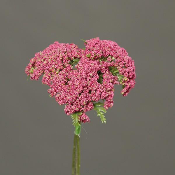 3 Stück Anethum / Dillzweig 28cm rosa-pink DP Kunstzweig künstlicher Dill Zweig Kunstpflanzen