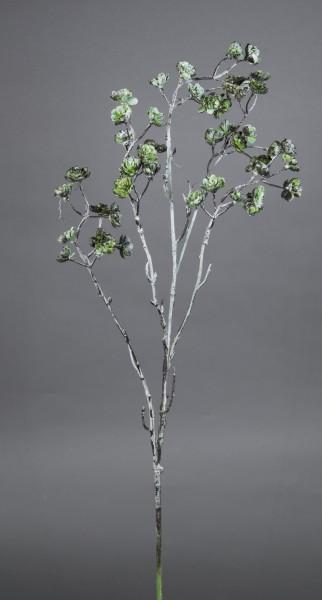 Sukkulentenzweig 78cm grün-grau CG Kunstzweig künstlicher Zweig Kunstpflanzen