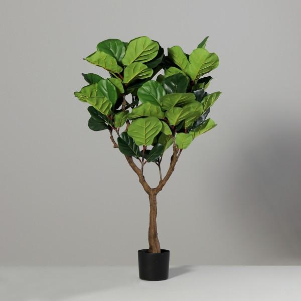 Geigenfeige 120x80cm DP Kunstbaum Kunstpflanzen künstlicher Baum Ficus Lykra künstliche Feige