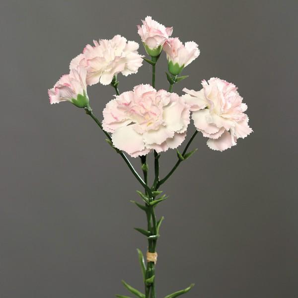 Nelkenbund mit 3 Stielen 30cm rosa DP Kunstblumen künstliche Blumen Nelken