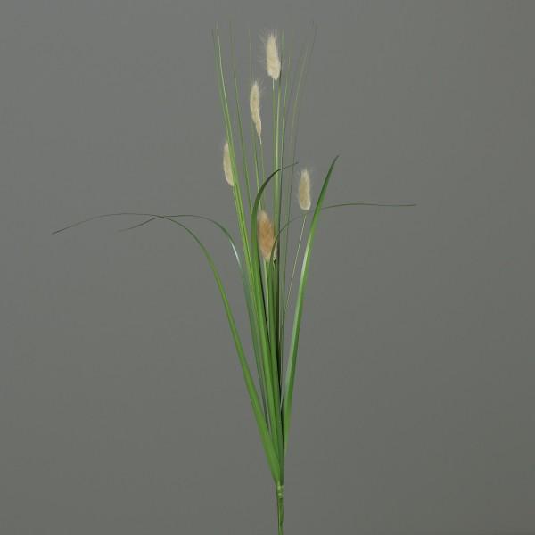 Hasenschwanzgras / Hasengras 70cm DP Kunstpflanzen Dekogras Grasbusch künstliches Gras