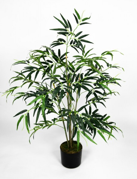 Bambus Asia 120cm PF künstlicher Baum Bambusbaum Kunstbaum Kunstpflanzen Kunstbambus
