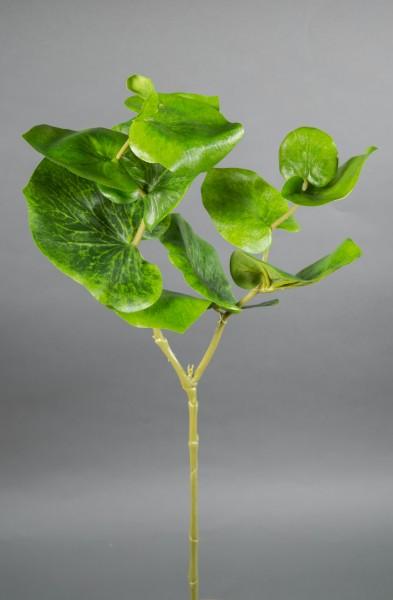 Begonienzweig Nature 75cm GA Kunstpflanzen Blätterzweig künstlicher Zweig
