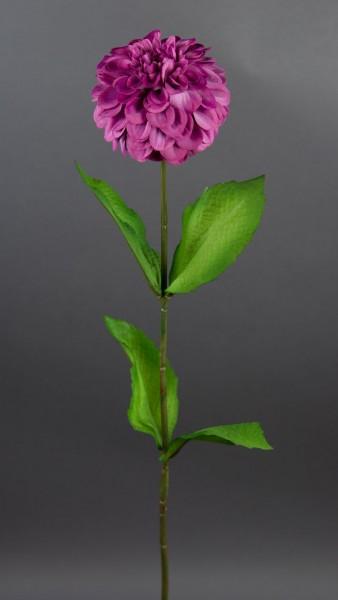 Dahlienzweig 66cm fuchsia CG Kunstblumen künstliche Dahlienzweig Blumen Seidenblumen