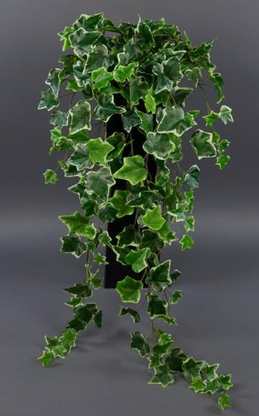 Efeubusch Real Touch 95cm grün-weiß DP Kusntpflanzen künstliches Efeu Efeuranke