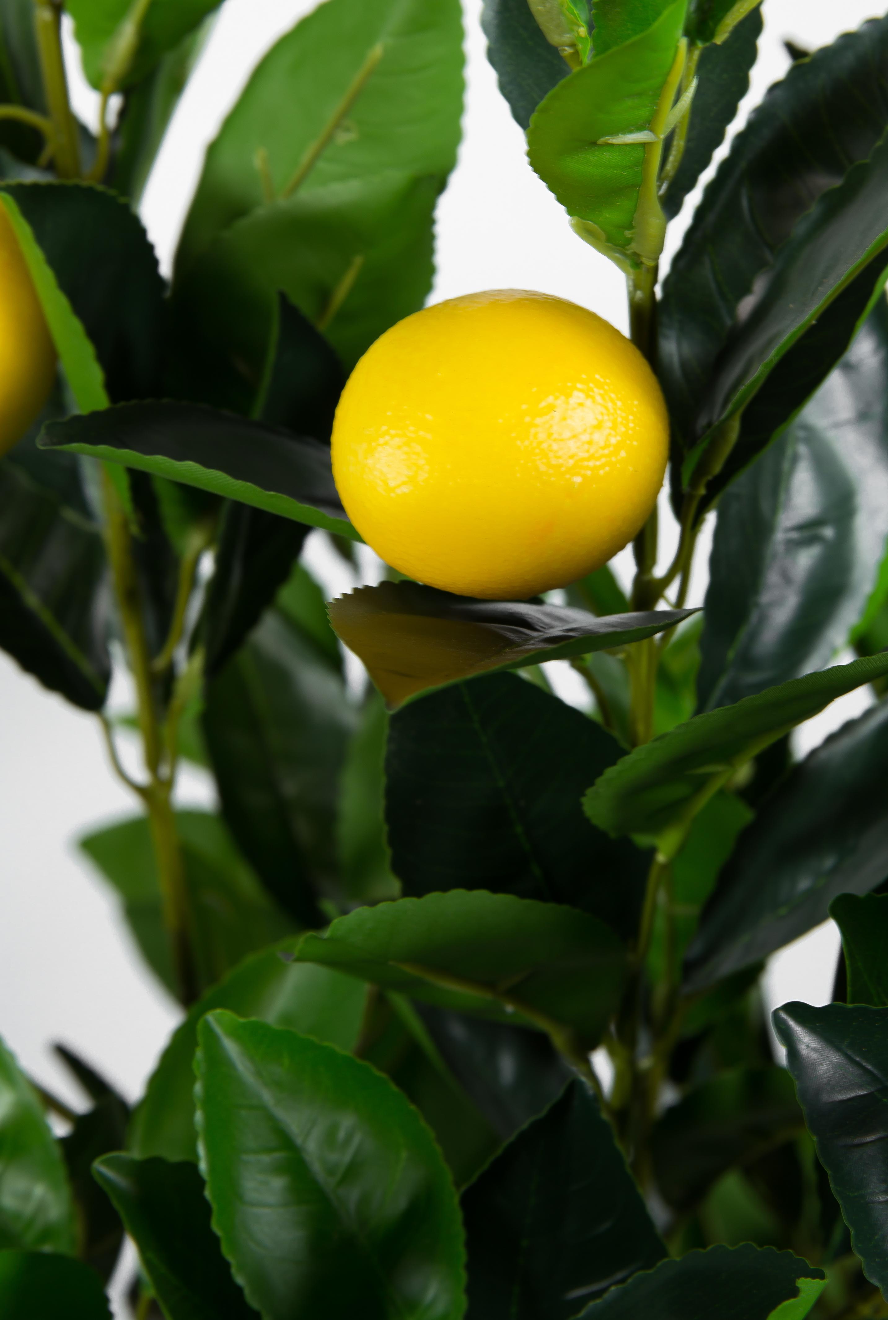 Orangenbaum 150cm ZJ künstlicher Baum Kunstbaum Kunstpflanzen Mandarinenbaum