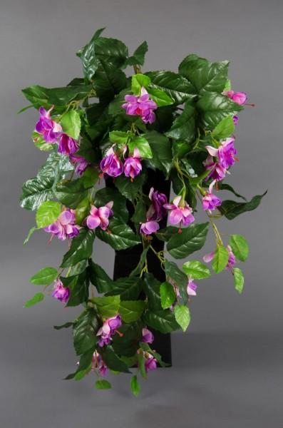 Fuchsienranke 70cm flieder ZF künstliche Fuchsie Fuchsia Fuchsien-Ranke Blumen Kunstpflanzen