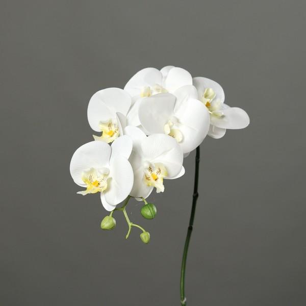 Orchideenzweig Real Touch 80cm salmon DP Kunstblumen künstliche Orchidee Blume