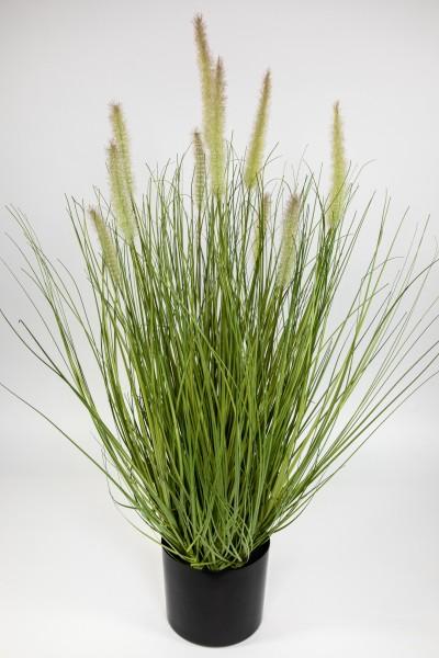 Fuchsschwanzgras 80x45cm grün CG Kunstpflanzen Dekogras Grasbusch künstliches Gras