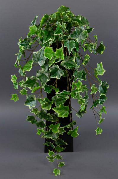 Efeubusch Real Touch 75cm grün-weiß DP Kusntpflanzen künstliches Efeu Efeuranke