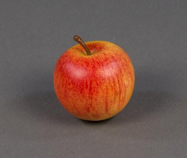 Künstlicher Apfel 5,5cm rot-orange AR Dekoobst Kunstobst Künstliches Obst