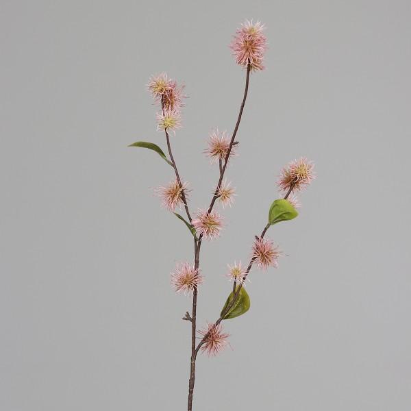 Zaubernusszweig / Hamameliszweig 100cm rosa DP Kunstblumen Kunstzweig künstliche Blumen Hamamelis