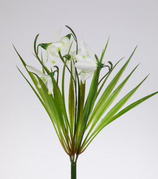 Schneeglöckchen 30cm FT# Kunstblumen künstliche Blumen Galanthus