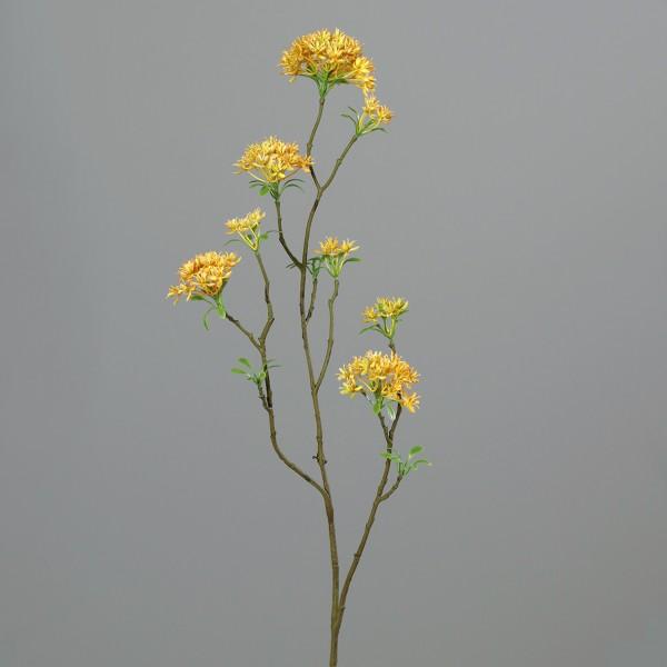 Bouvardienzweig 85cm gelb GA Kunstblumen künstliche Bowardien Bouvardien Blumen Zweige