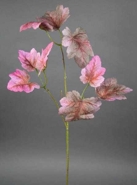 Heuchera-Zweig 75cm rosa-pink JA künstlicher Zweig Kunstpflanzen