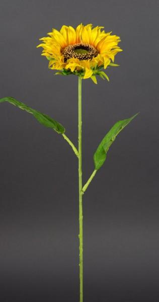 Sonnenblume Deluxe 65cm LM Kunstblumen künstliche Blumen Seidenblumen Sonnenblumen