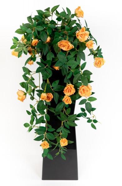 Rosenranke 62cm orange ZF Kunstpflanzen Kunstblumen künstliche Pflanzen künstliche Rosen