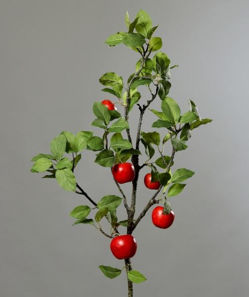 Apfelzweig mit Früchten 120cm DP Dekoobst Kunstobst Künstliches Obst künstlicher Apfel