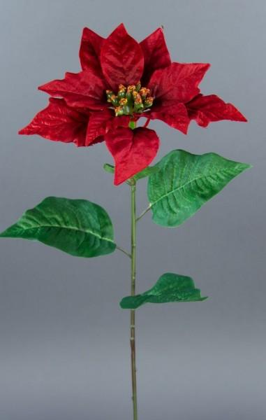 Weihnachtsstern 56cm rot AR Kunstblumen künstliche Blumen Poinsettie künstlicher Weihnachtsstern