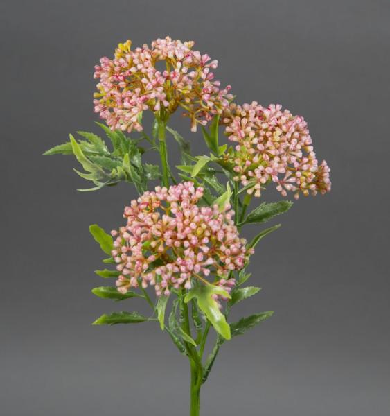 Skimmiabusch 25cm rosa JA Kunstblumen künstliche Skimmia Blumen Kunstpflanzen