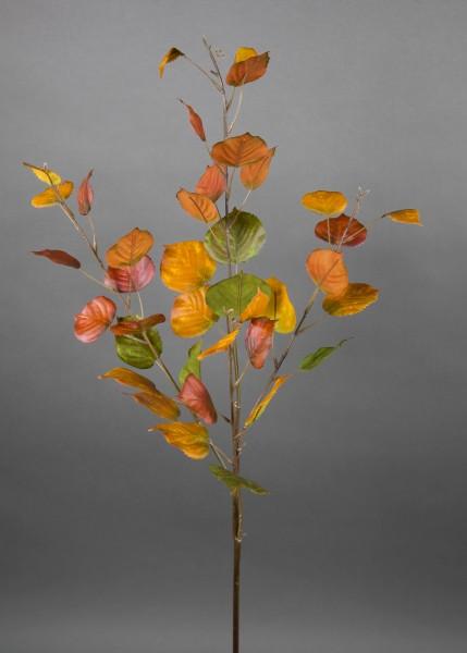 Birkenzweig 80cm gelb-rot-grün CG künstlicher Zweig Birke Kunstpflanzen