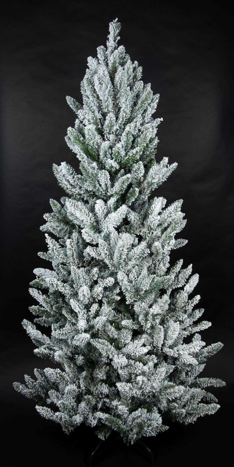 Tannenbaum Kunststoff.Schnee Tannenbaum 180cm Ls Kunstlicher Weihnachtsbaum Tannenbaum Kunststoff Schneetanne