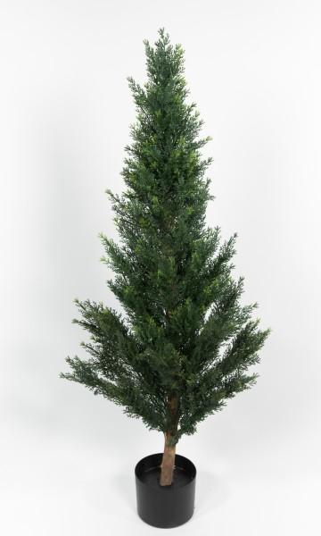 Zeder / Konifere Natura 120cm LA künstliche Pflanzen Kunstpflanzen Kunstbaum Thuja Zypresse