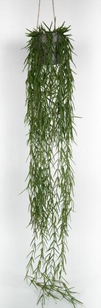 Tillandsienranke im Hängetopf 120cm / 170cm GA Kunstpflanzen Hängeampel künstliche Pflanzen