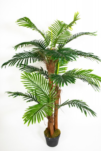 Seidenblumen Ro/ß F/ächerpalme Real Touch 140cm ZJ k/ünstliche Pflanzen Palmen Palme Kunstpalmen Kunstpflanzen Dekopalme