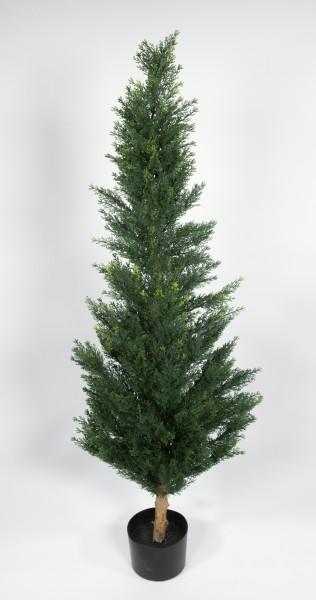 Zeder / Konifere Natura 150cm LA künstliche Pflanzen Kunstpflanzen Kunstbaum Thuja Zypresse