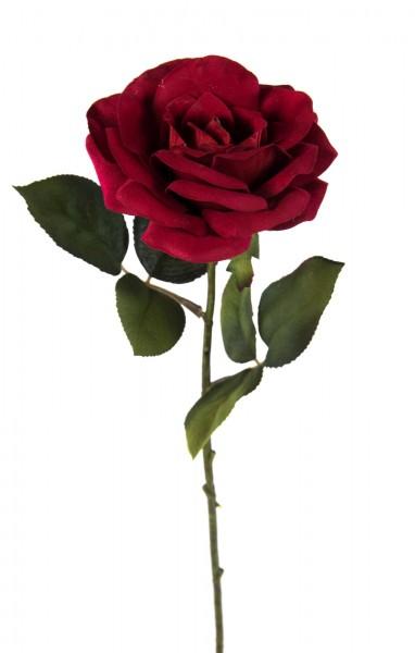 Rose Harmonie 45cm rot DP Kunstblumen künstliche Rose Rosen Blumen Seidenblumen