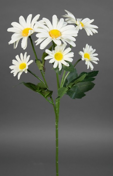 Margeritenzweig 60cm weiß LM Kunstblumen künstliche Blumen Margerite