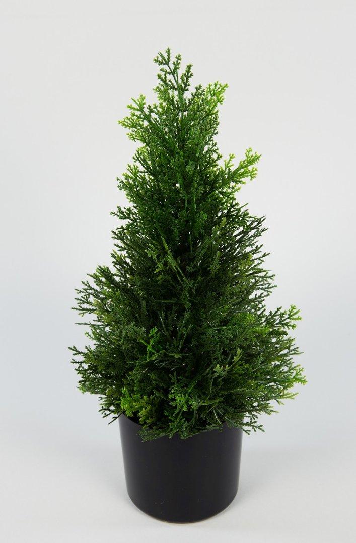 zeder konifere natura 45cm la modell 2018 k nstliche pflanzen kunstpflanzen kunstbaum. Black Bedroom Furniture Sets. Home Design Ideas