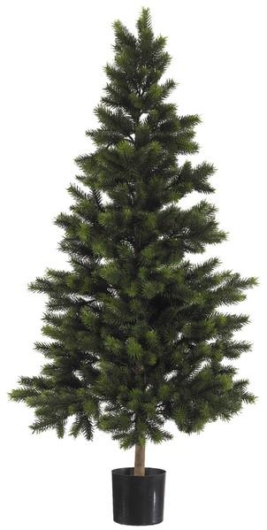 Wald-Tannenbaum Deluxe 210cm DA künstlicher Weihnachtsbaum Tannenbaum Kunststoff Spritzguss 100% PE
