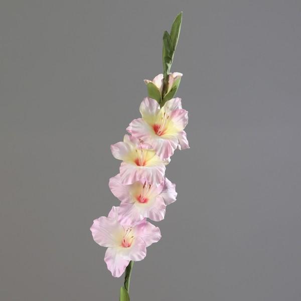 Gladiole 85cm rosa DP Kunstblumen künstliche Schwertblume Blumen