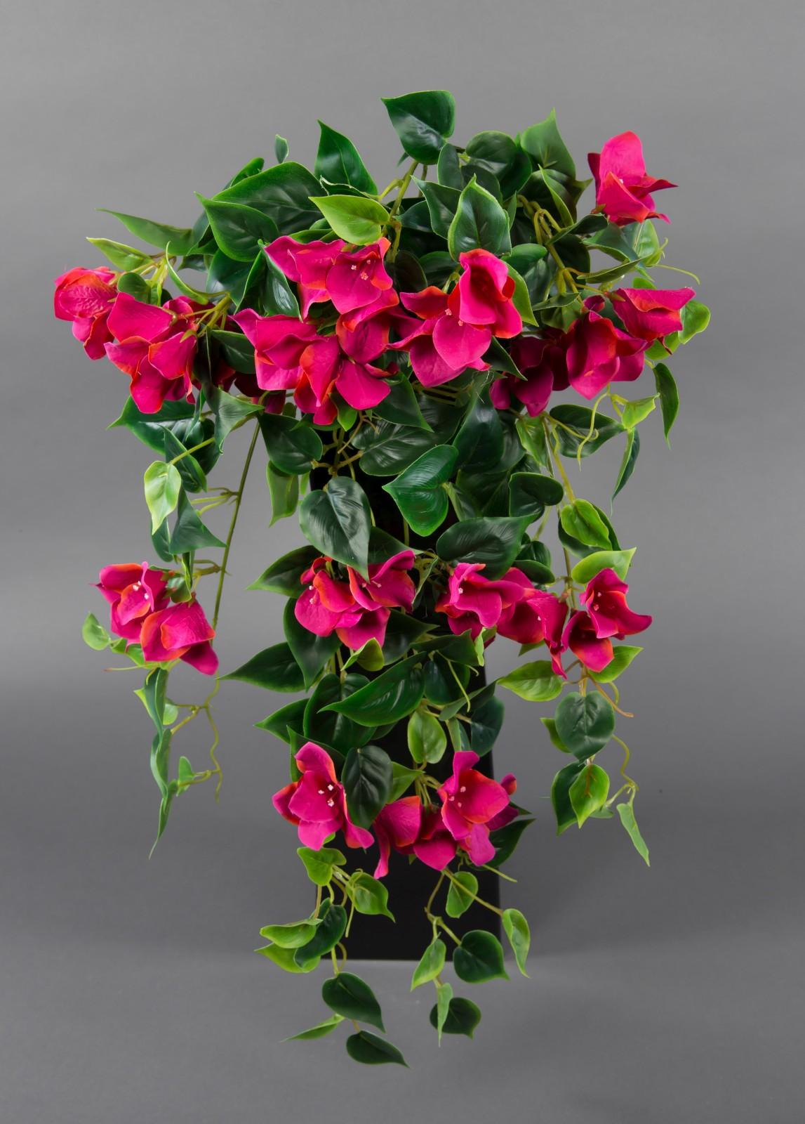 bougainvillearanke 65cm fuchsia-pink zf künstliche bougainvillea