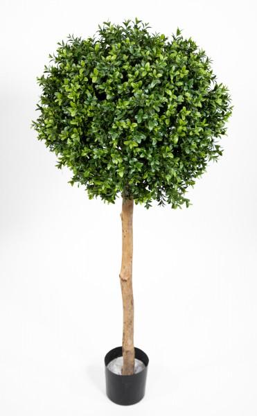 Kugel-Buchsbaum 110x45cm IG Buchsbaumkugel auf Stamm Buchskugel künstlicher Baum Buchs Kunstpflanzen