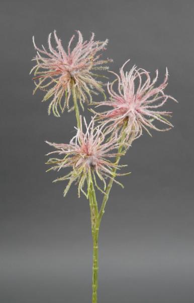 Zaubernusszweig / Hamameliszweig 46cm rosa GA Kunstblumen Kunstzweig künstliche Blumen Hamamelis