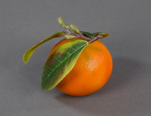 Künstliche Mandarine 7x6cm Feel Real FT Dekoobst Kunstobst Künstliches Obst