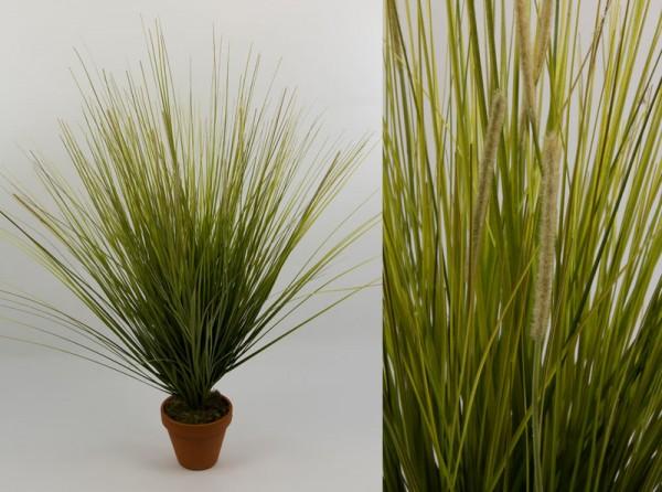 Dünengrasbusch 72cm -ohne Topf- GA Kunstpflanzen Kusntgras Dünengras