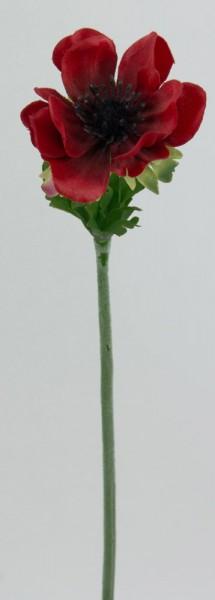 Anemone 34cm bordeaux AR Kunstblumen künstliche Blumen Seidenblumen