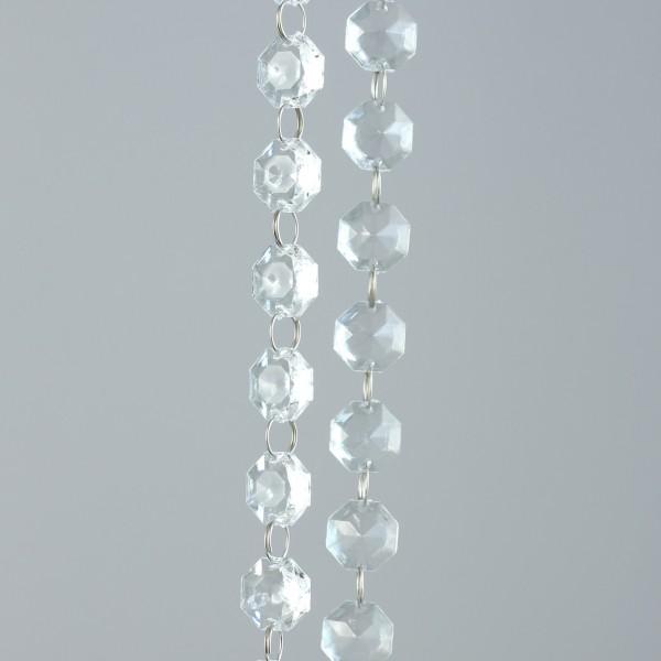 Acryl-Dekokette / Acryl-Girlande 180cm DP