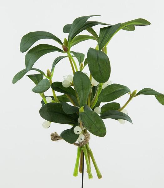 Mistelbund 20x18cm DP Kunstblumen Kunstpflanzen künstliche Blumen Pflanzen Mistel