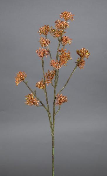 Reiszweig 67cm braun-orange CG Kunstzweig künstlicher Zweig Kunstpflanzen