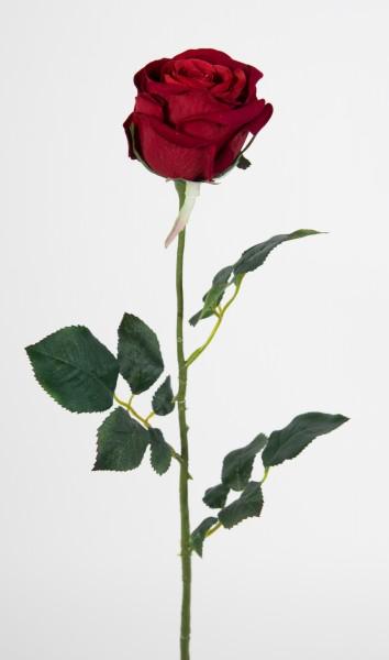 12 Stück Baccararose 68cm rot PM Kunstblumen künstliche Rose Rosen Blumen Seidenblumen