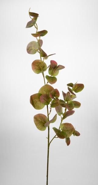 Eukalyptuszweig 100cm grün-mauve DP Kunstzweig künstliche Zweige Kunstpflanzen künstlicher Eukalyptu