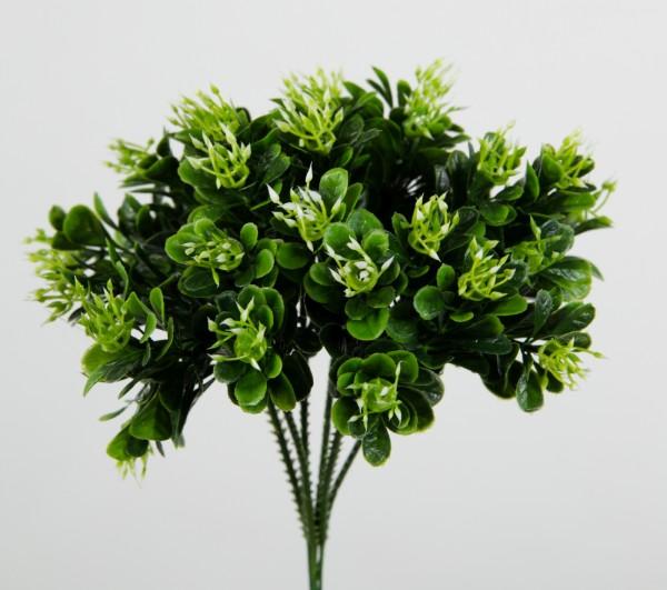 6 Stück Buchsbaum-Pick 18cm grün LM Kunstpflanzen Kunstzweig künstlicher Zweig Buchsbaum