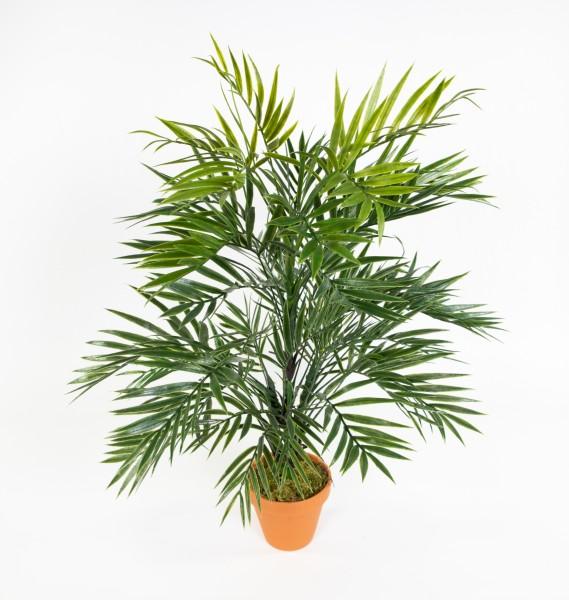Zimmerpalme / Palmenbusch 60cm im Topf GA Kunstpflanzen Kunstpalmen künstliche Palme Dekopalme