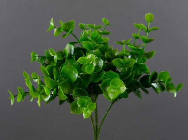 3 Stück Eukalyptus-Pick 20cm grün CG Kunstzweig künstlicher Zweig Eukalyptus Eukalyptuszweig