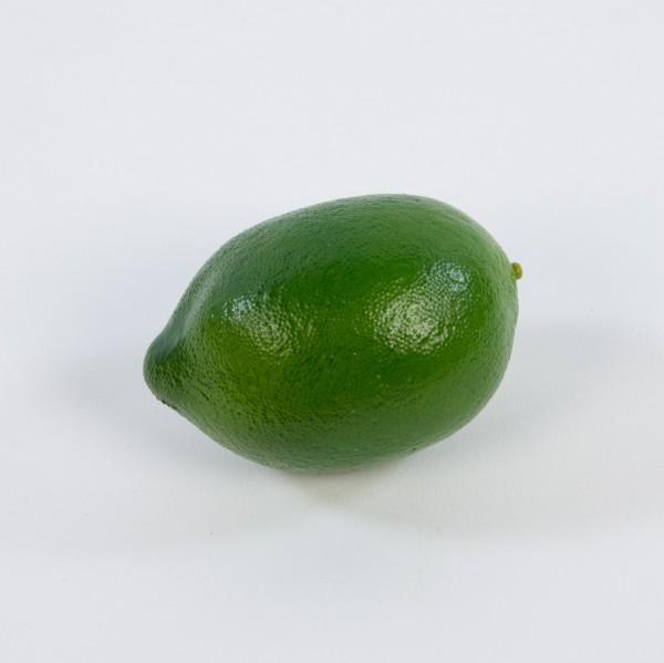 Künstliche Limone / Limette 8x6cm DP Dekoobst Kunstobst Künstliches Obst